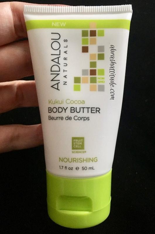 Andalou Naturals KuKui Cocoa Body Butter