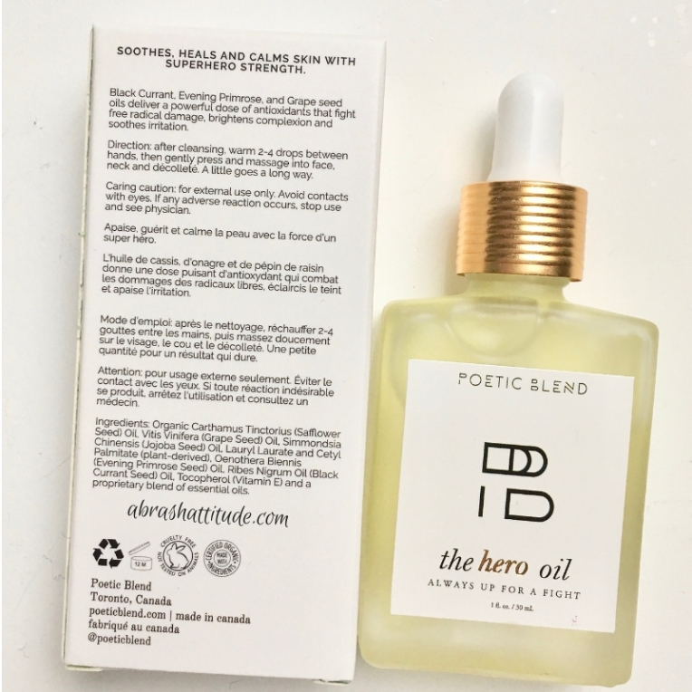 Poetic Blend The Hero Oil