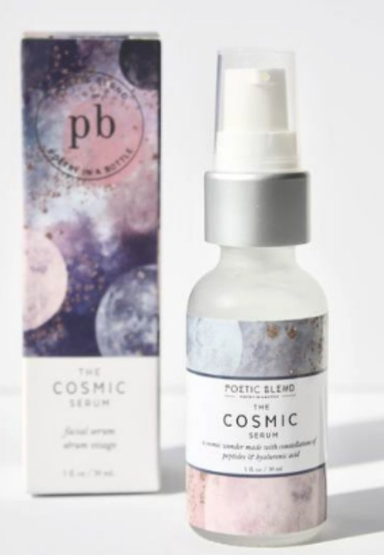 Poetic Blend The Cosmic Serum [shot taken from Poetic Blend website]