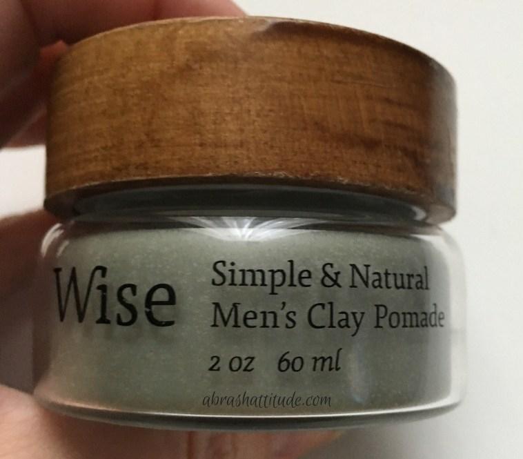 Wise Men's Care Glacier Clay Pomade