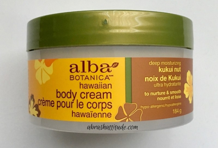 Alba Botanica Hawaiian Body Cream