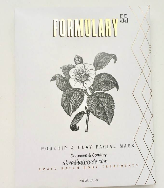 Formulary 55 Rosehip & Clay Facial Mask