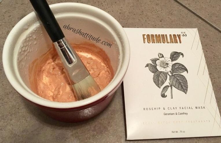 Formulary 55 Rosehip & Clay Facial Mask