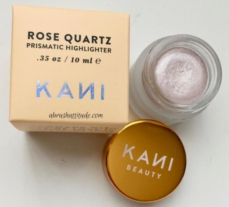 Kani Botanicals Rose Quartz Prismatic HIghlighter
