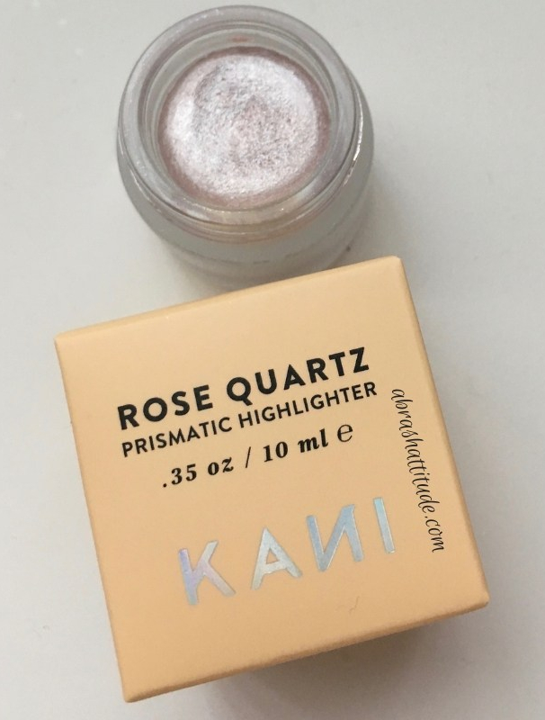 Kani Botanicals Rose Quartz Prismatic HIghlighter