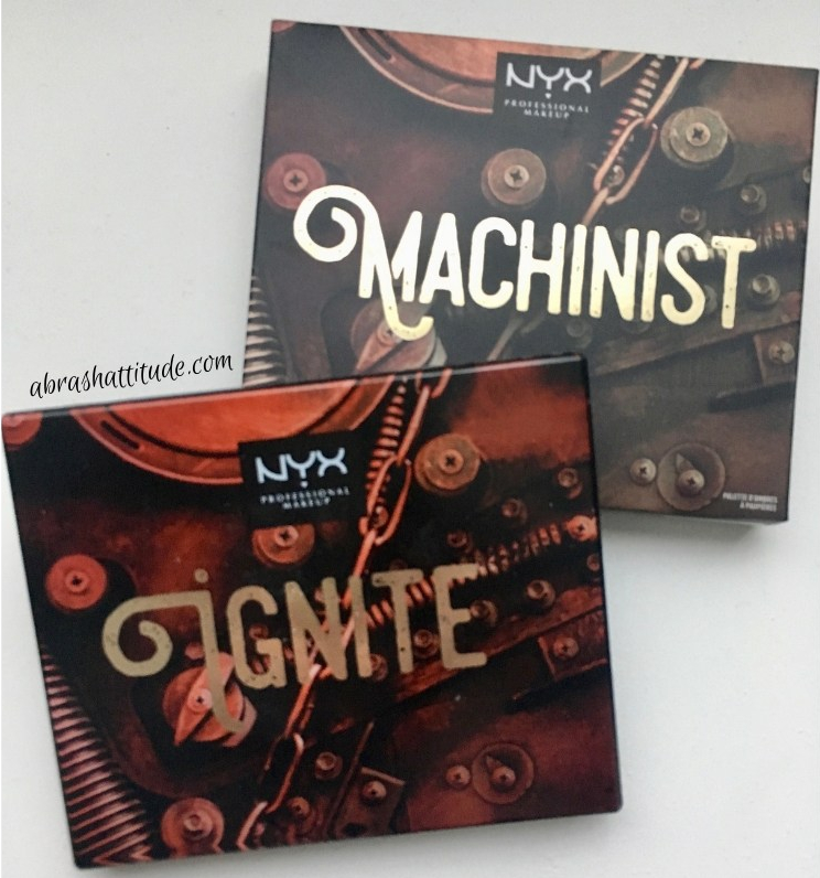 Nyx Machinist Palette - Ignite