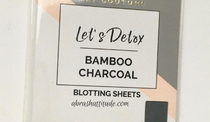 Mai Couture Bamboo Charcoal Blotting Sheets
