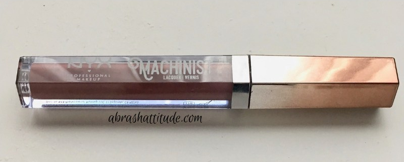 Nyx Machinist Lip Lacquer in Ignite