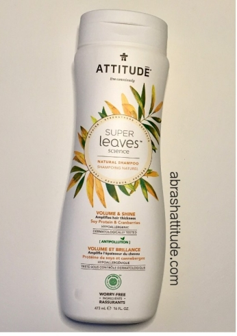 Attitude Super Leaves Volume & Shine Shampoo & Conditioner