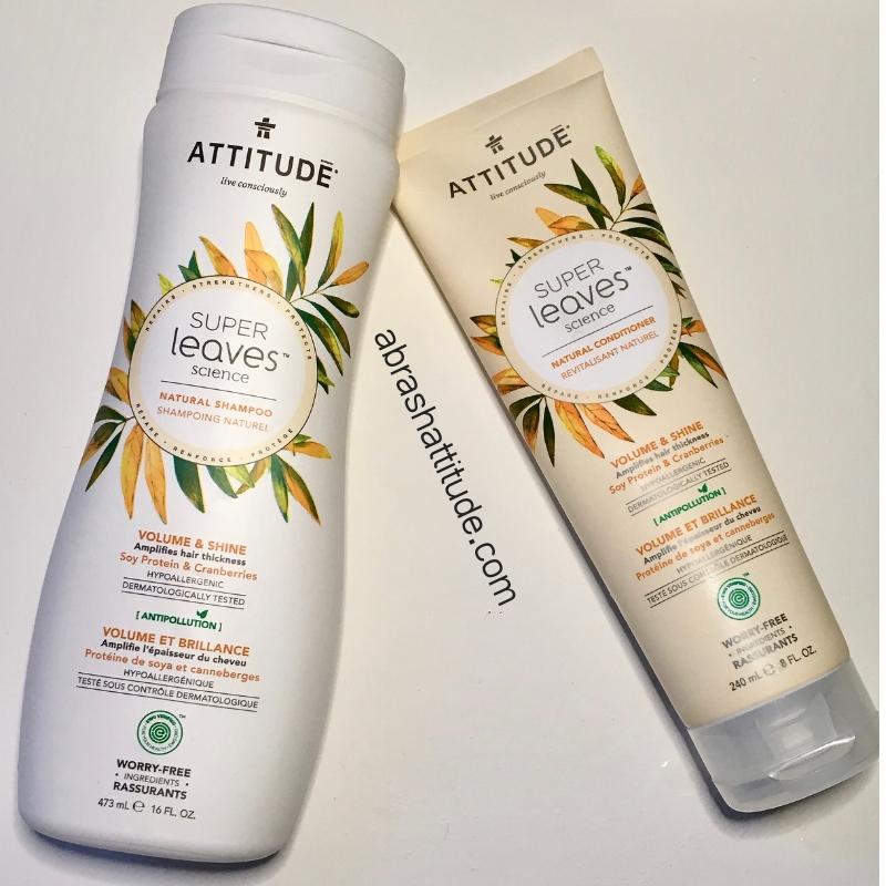 Attitude Super Leaves Volume & Shine Shampoo & Conditioner