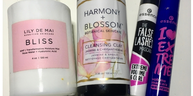 Empties December 2018 - Lily De Mai, Harmony + Blossom, Essence, Hurraw