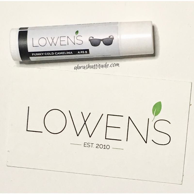 Lowen's Natural Skincare - Funky Cold Camelina Lip Balm