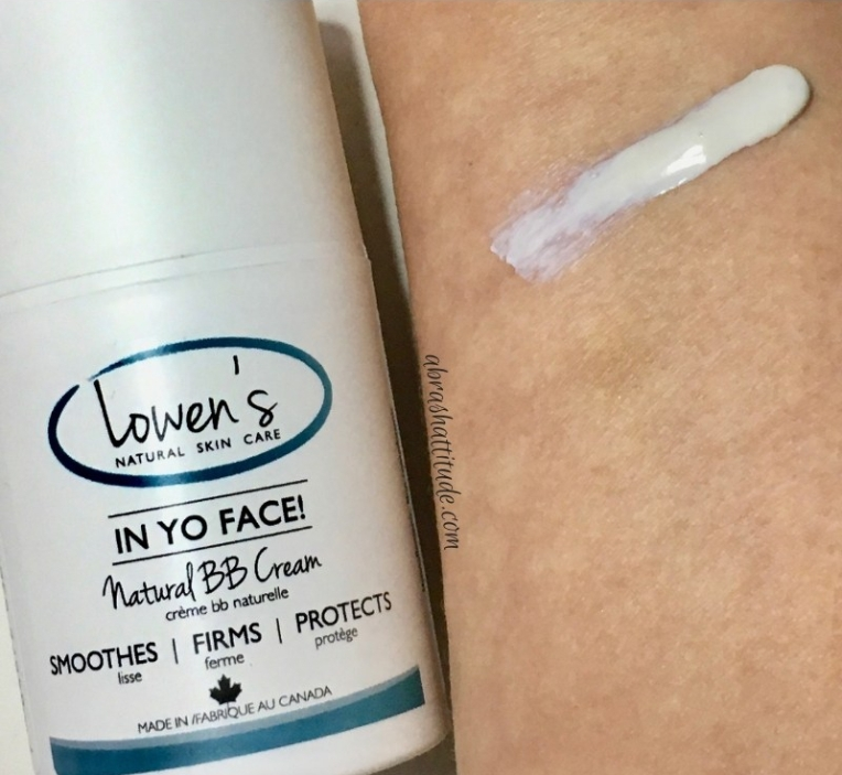 Lowen's Natural Skincare In Yo Face! Natural Vegan BB Cream