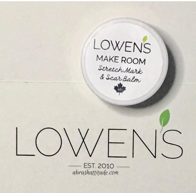 Lowen's Natural Skincare Make Room