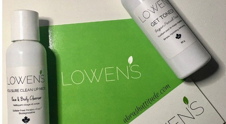 Lowen's Natural Skincare You Sure Clean Up Nice & Get Toned Vegan Facial Toner