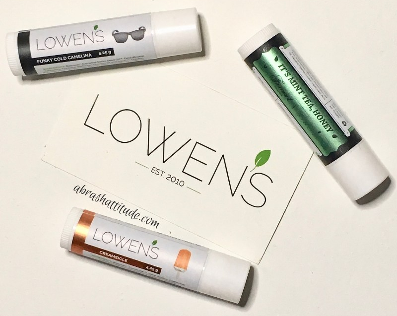 Lowen's Natural Skincare - The Lip Balms