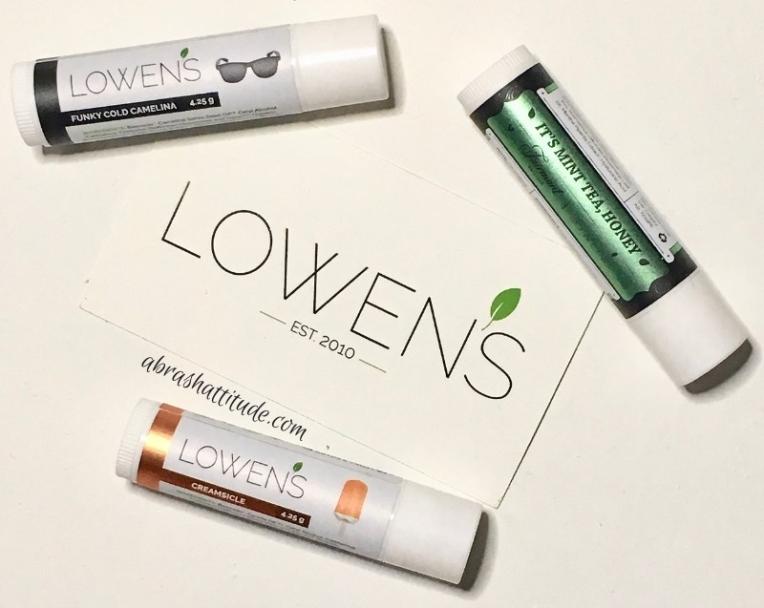 Lowen's Natural Skincare - The Lip Balms