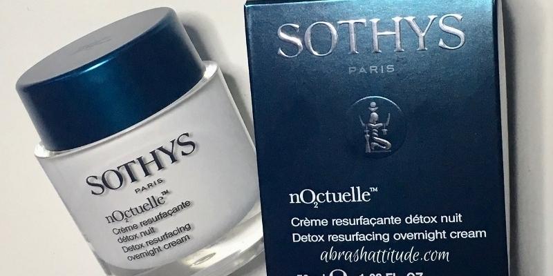 Sothys nOctuelle Detox Resurfacing Overnight Cream