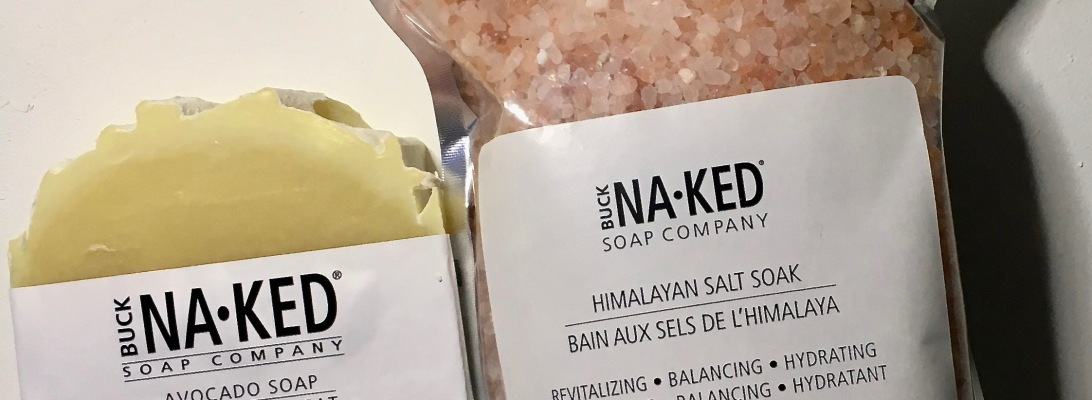 Buck Naked Soap Company Avocado Soap & Himalayan Salt Soak