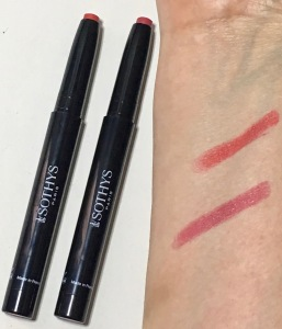 Sothys Spring Summer 2019 Makeup Collection - Lipstick Pencil in Rouge Orangé and Fushia Fauve