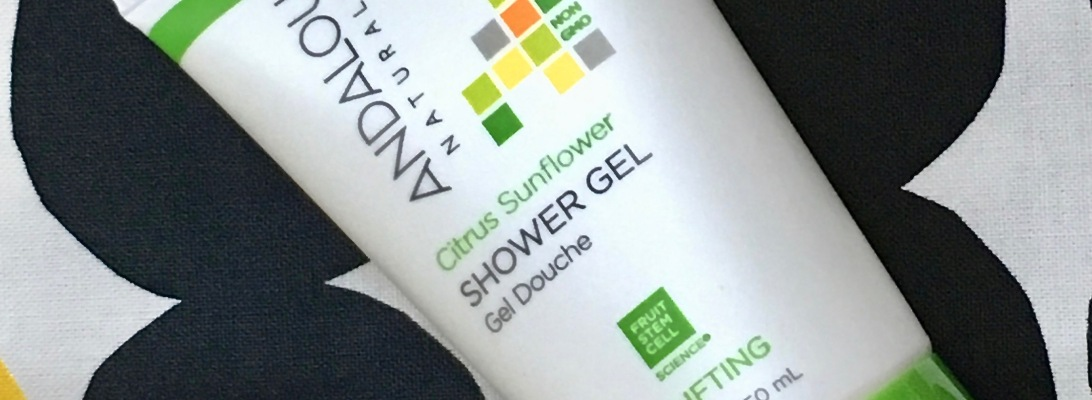 Andalou Naturals Citrus Sunflower Shower Gel