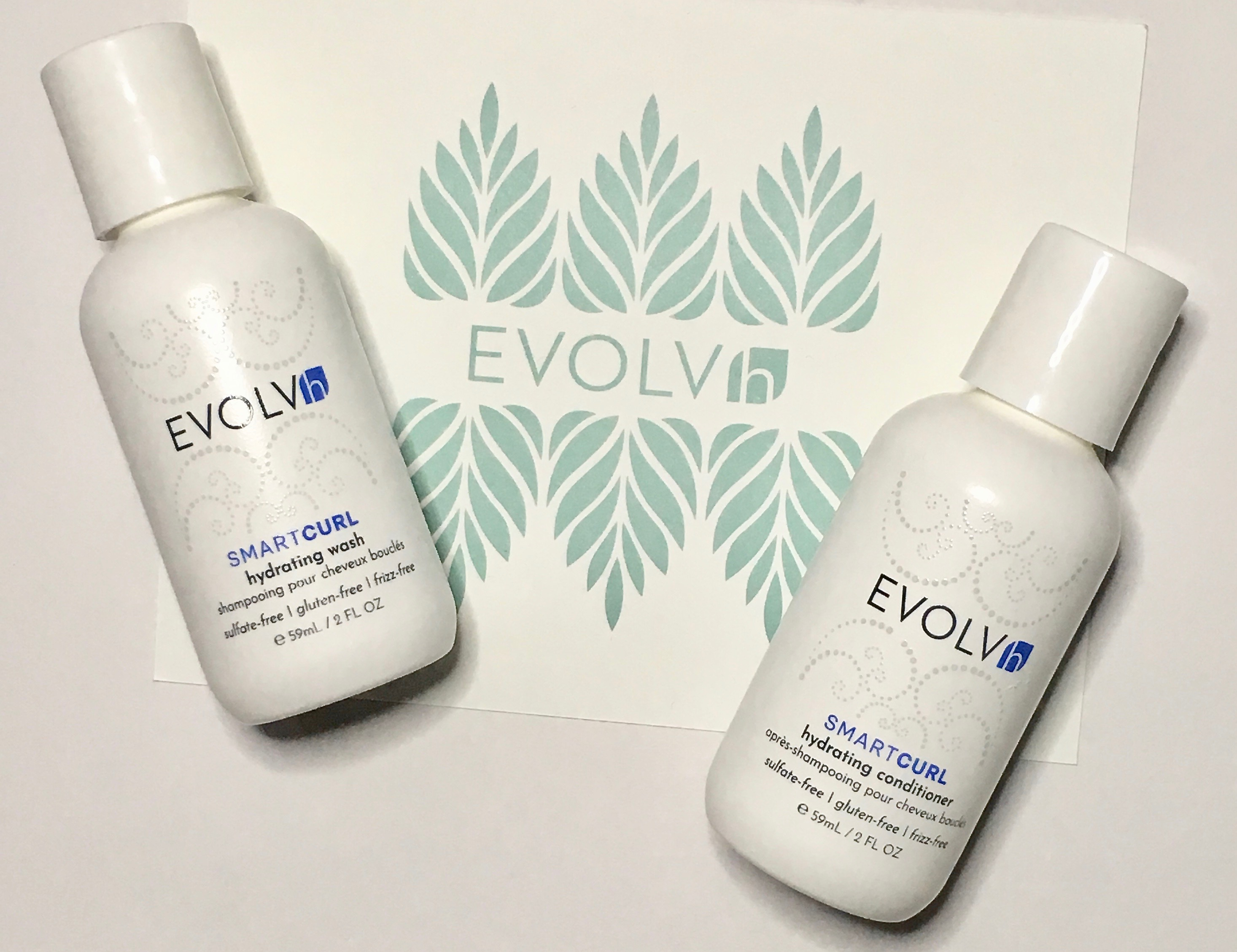 EVOLVh Love Your Curls Discovery Kit - SmartCurl Hydrating Wash & Conditioner