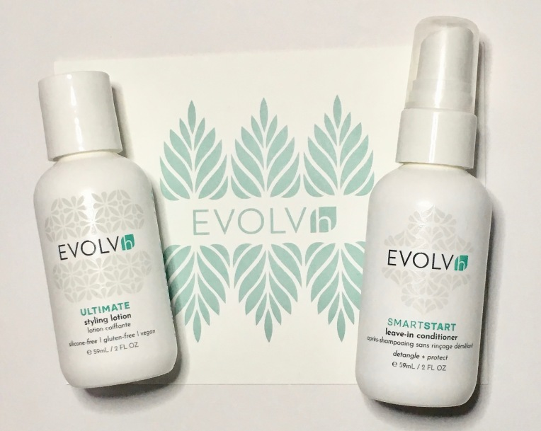EVOLVh Love Your Curls Discovery Kit - Ultimate Styling Lotion and SmartStart Leave-In Conditioner