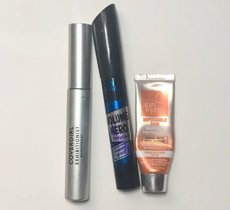 Empties July 2019 - Makeup - Covergirl, Essence, Suntegrity