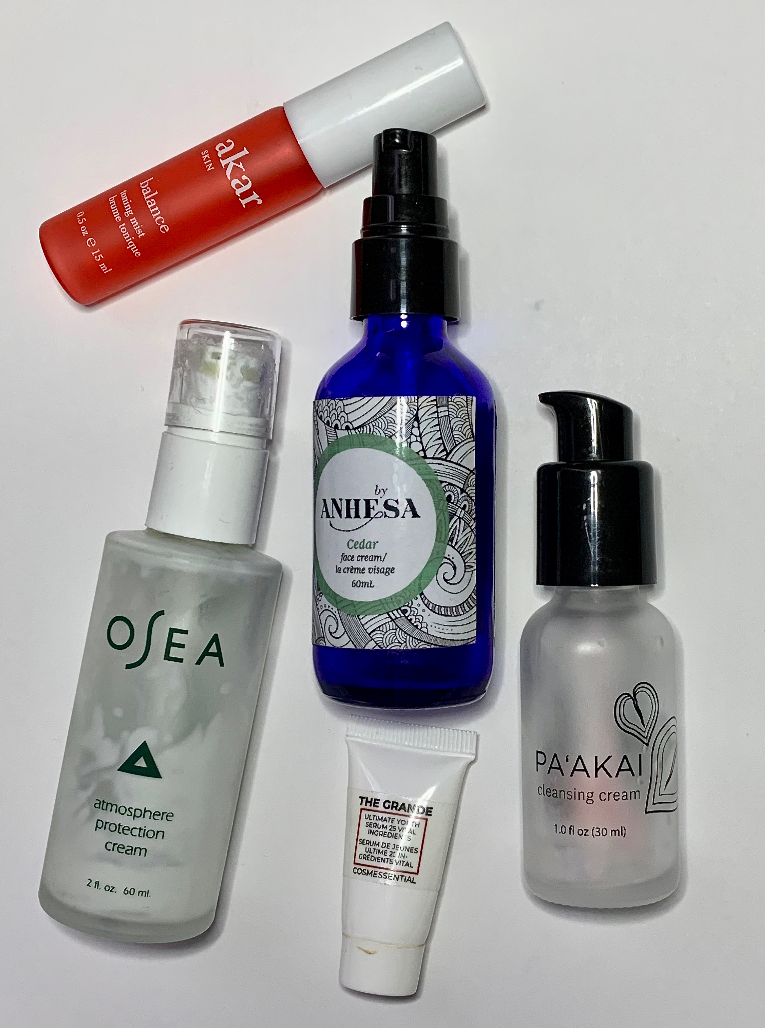 Empties November 2019 - Skincare