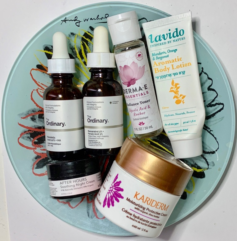 Empties January 2020 - Skincare