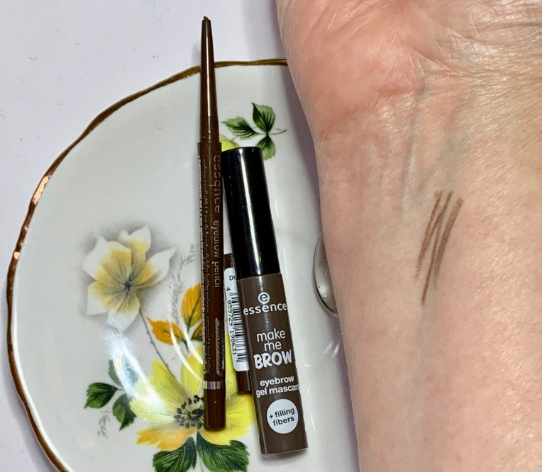 Essence Micro Precise Brow Pencil and Make Me Brow Tinted Brow Mascara
