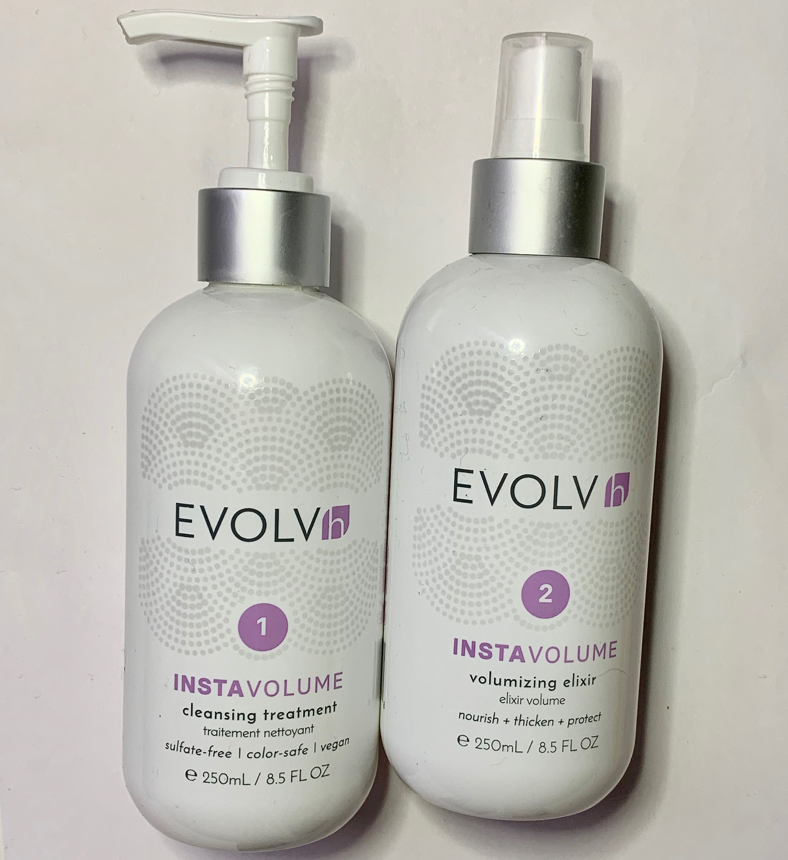EVOLVh InstaVolume Cleansing Treatment & Volumizing Elixir