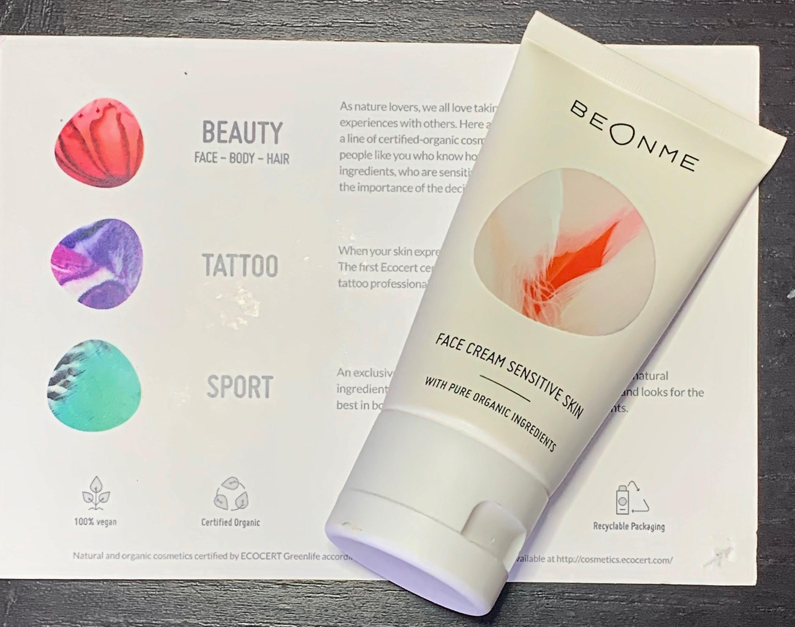 BeOnMe Face Cream Sensitive Skin