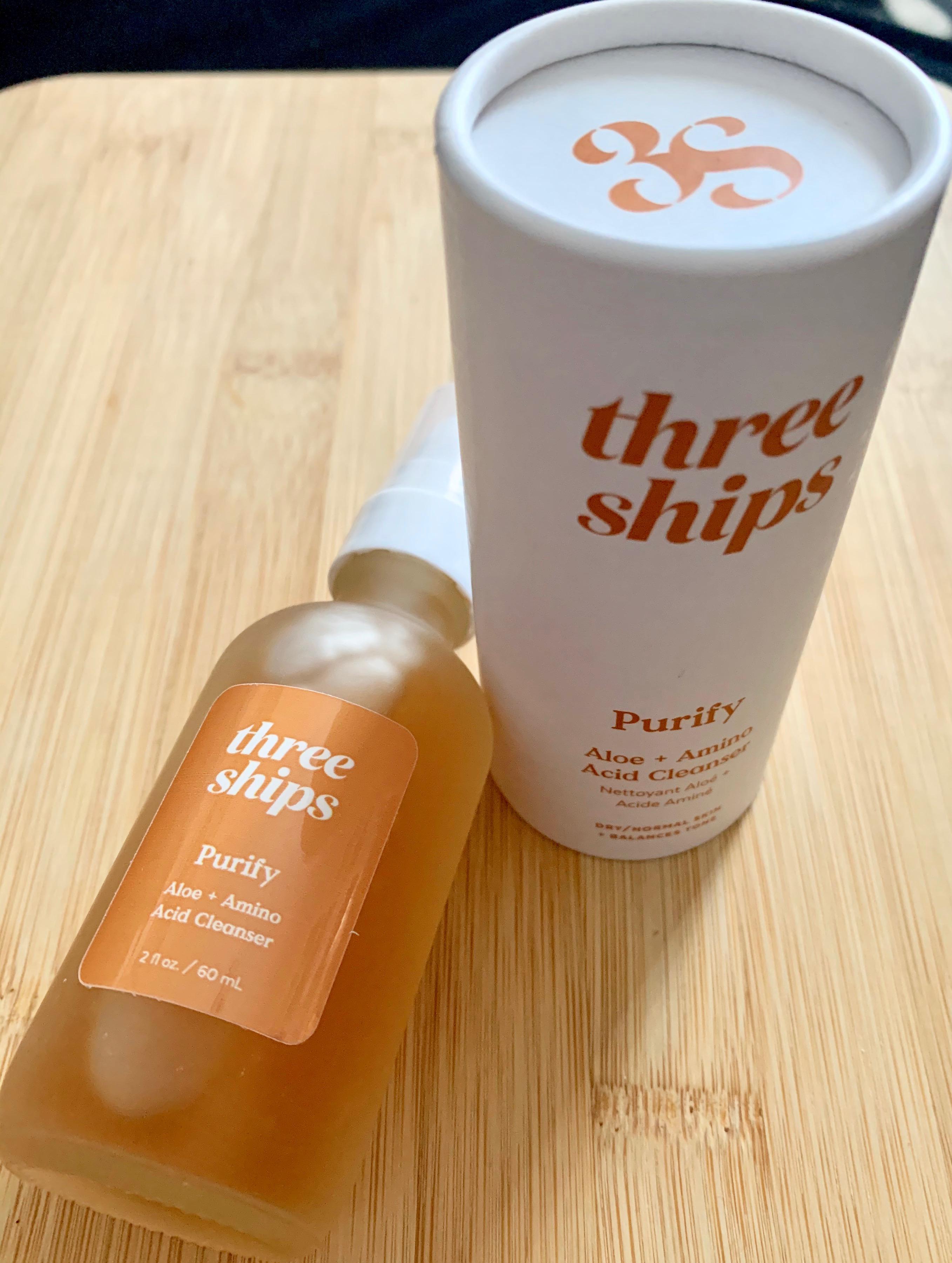 Three Ships Beauty Purify Aloe + Amino Acid Cleanser